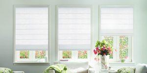 Sunscreen roller blinds | aluminium/cedar venetians
